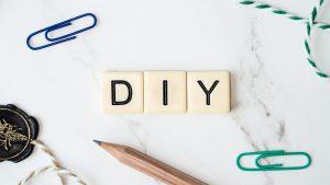 DIY écrit avec les lettre scrabble