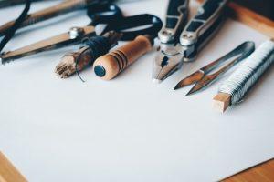 Outils pour faire du bricolage DIY