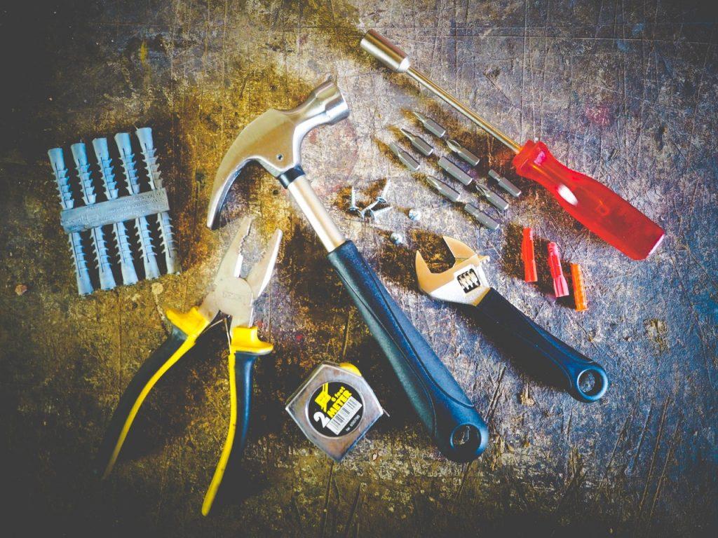 Outils de bricolage essentiel