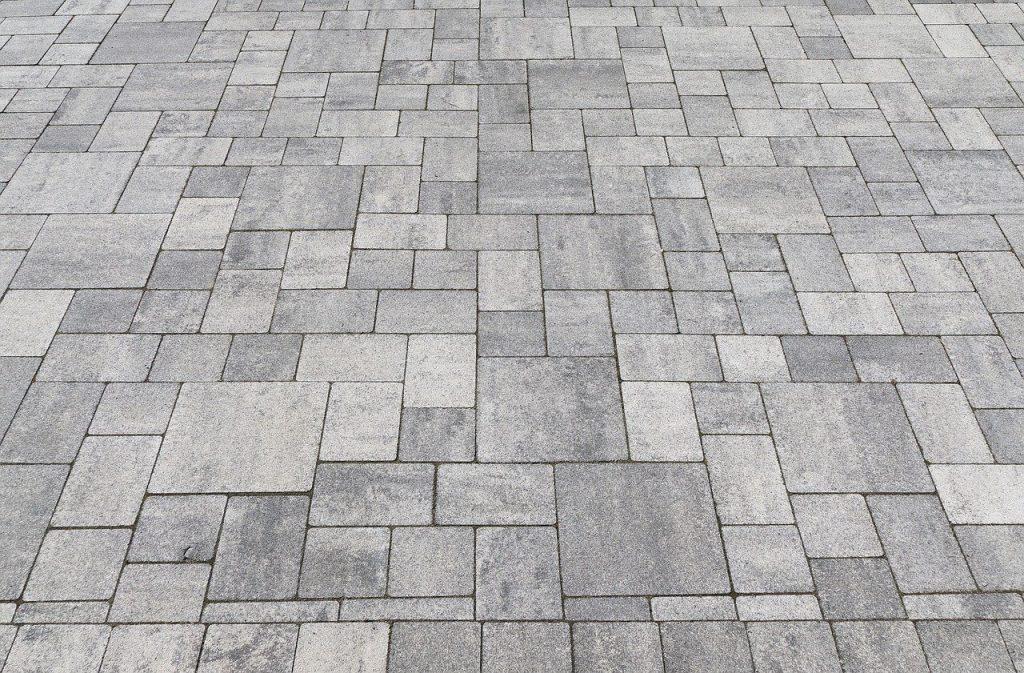 Sol terrassement extérieur pierre