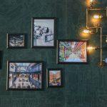 Pêle-mêle photo décoration murale